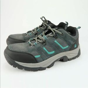 Northside Monroe Gray/Dark Turquoise Hiking Shoes